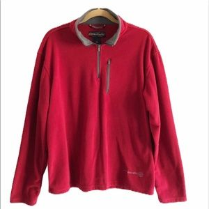 Free Country quarter zip fleece jacket. Large